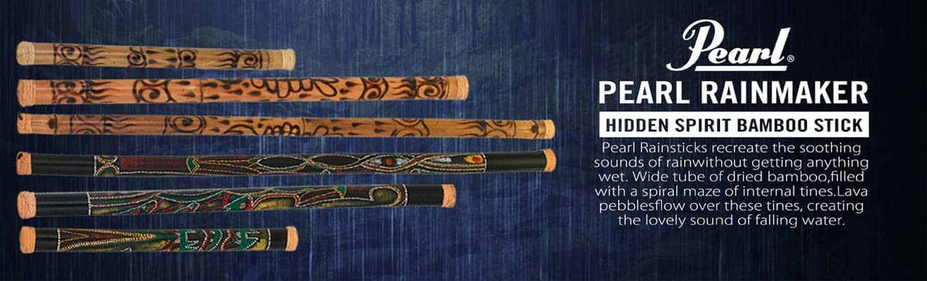 Pearl Bamboo Rainstick | Melody House