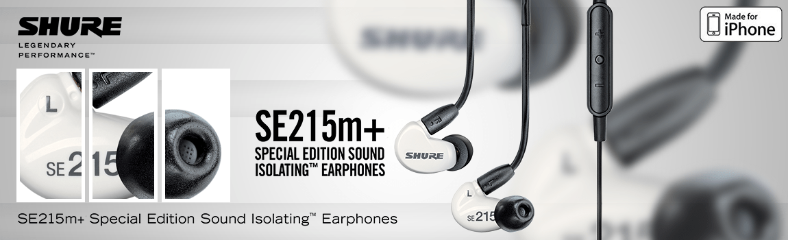 Special Edition Sound Isolating Earphones with Remote + Mic