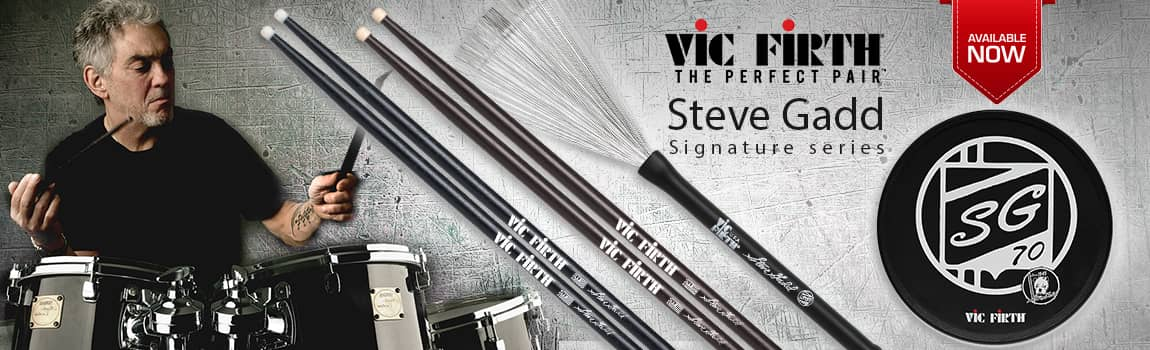 Steve Gadd and Vic - Vic Firth