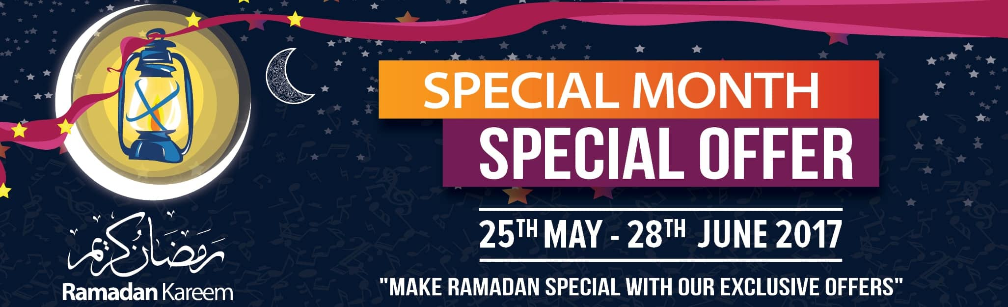 Ramadan special offers | Melody House Dubai