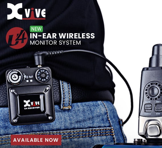 XVIVE - U4 In-Ear Monitor Wireless System