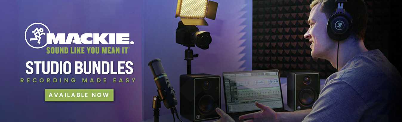 Melody House | Mackie Recording Bundles In Dubai