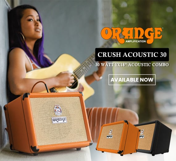 Melody House - Orange Crush Acoustic 30 Available