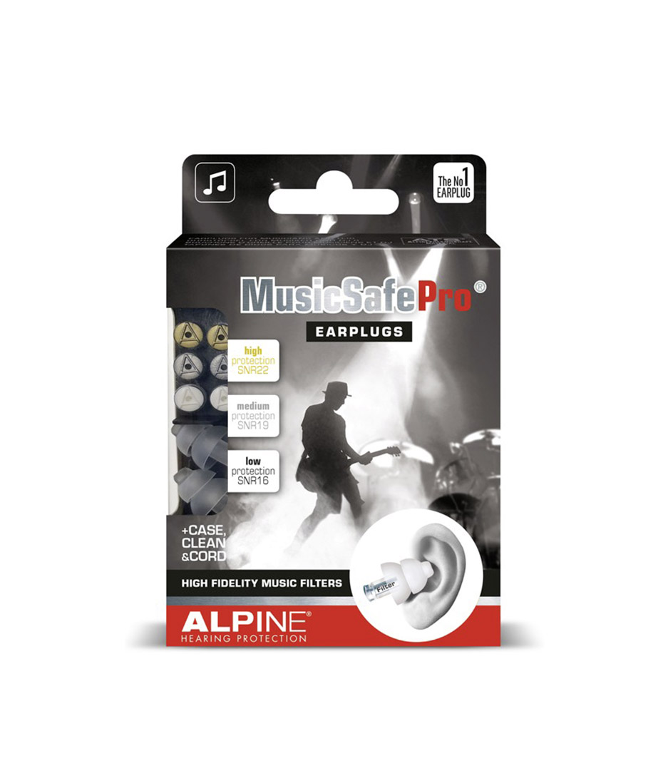 Alpine - 111.24.101 MusicSafePro Transparant - Melody House Musical Instruments