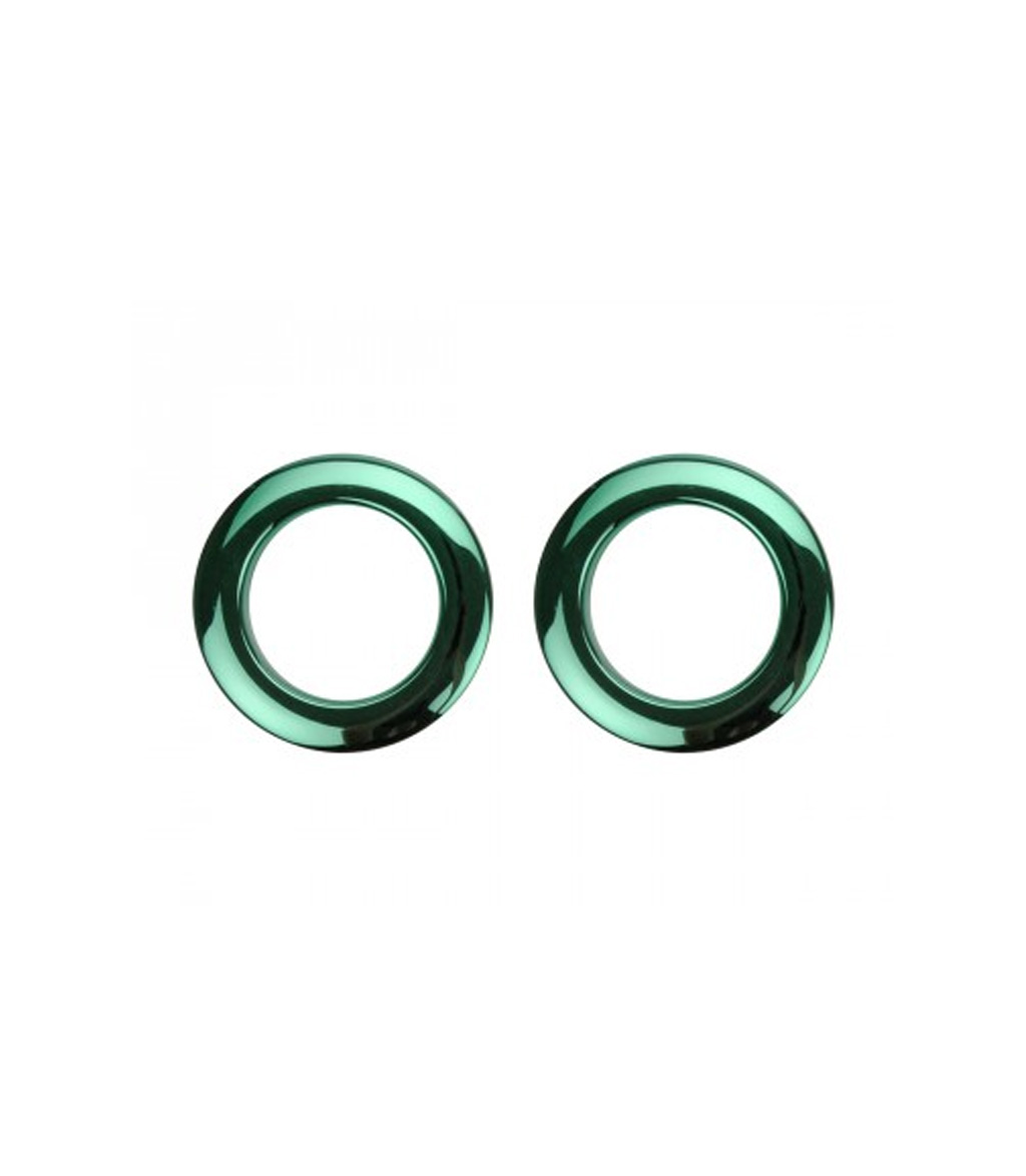 buy basso's 2inch green chrome drum os ring 2 pack