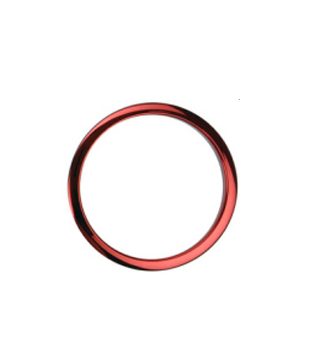 buy basso's 4inch red chrome drum os ring