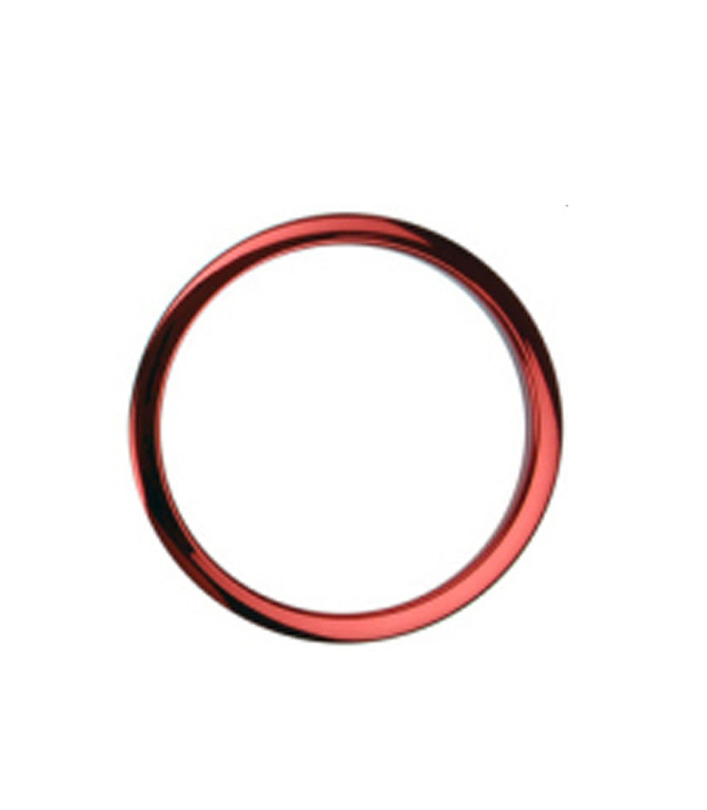 Bass O's - 5Inch Red Chrome Drum Os Ring - Melody House Musical Instruments
