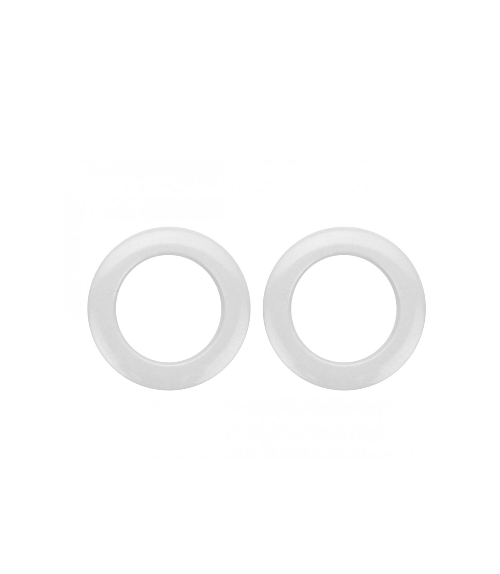 Buy Bass O's 2Inch White Drum Os Ring 2 Pack Melody House