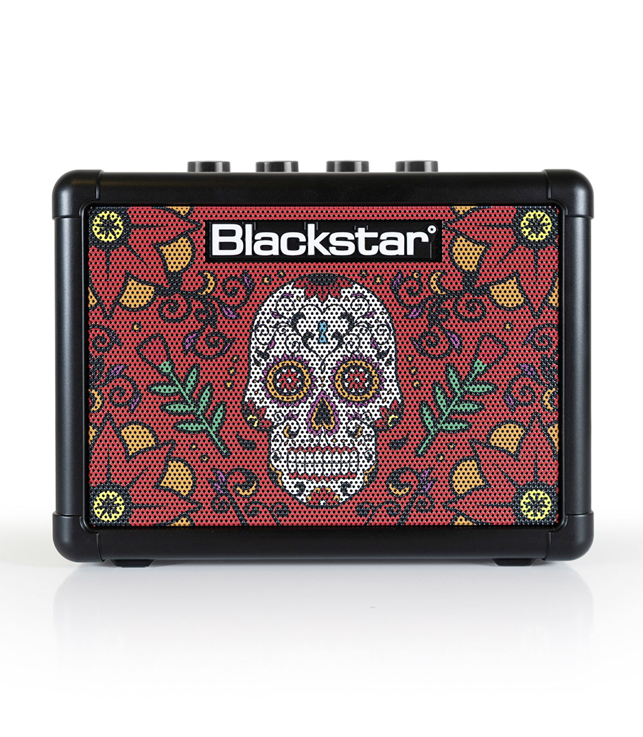 Blackstar - BA102089 FLY 3 3W Combo Mini Amp  SUGAR SKULL 2