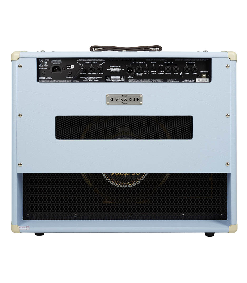 Melody House Musical Instruments Store - HT Club 40 MkII Black and Blue