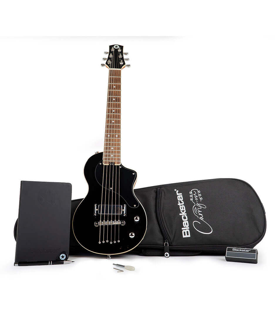 buy blackstar ba184060 carry on guitar pack deluxe in jet black