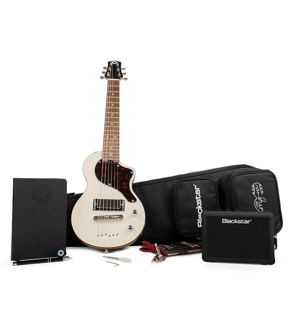 Blackstar - BA184070 Carry on Guitar Pack Deluxe in Vintage Wh
