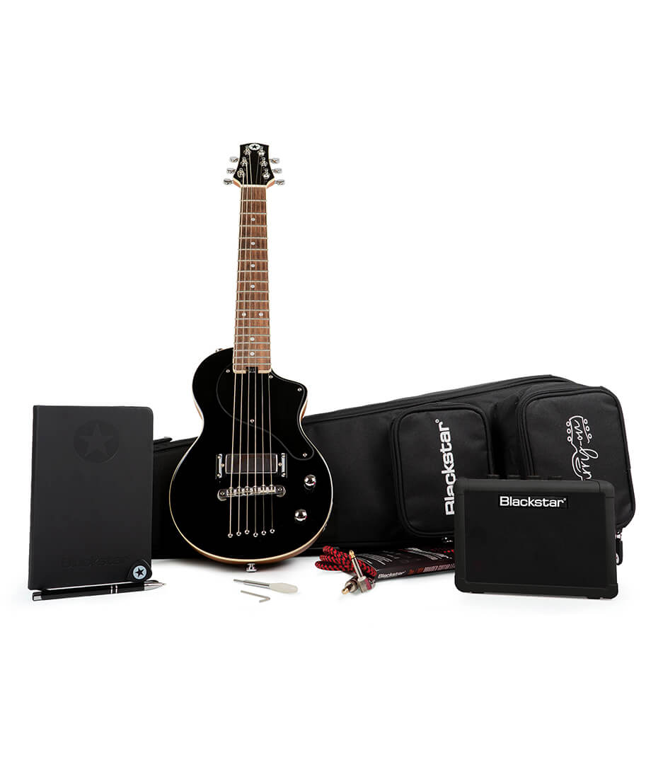 Blackstar - BA184080 Carry on Guitar Pack Deluxe in Jet Black