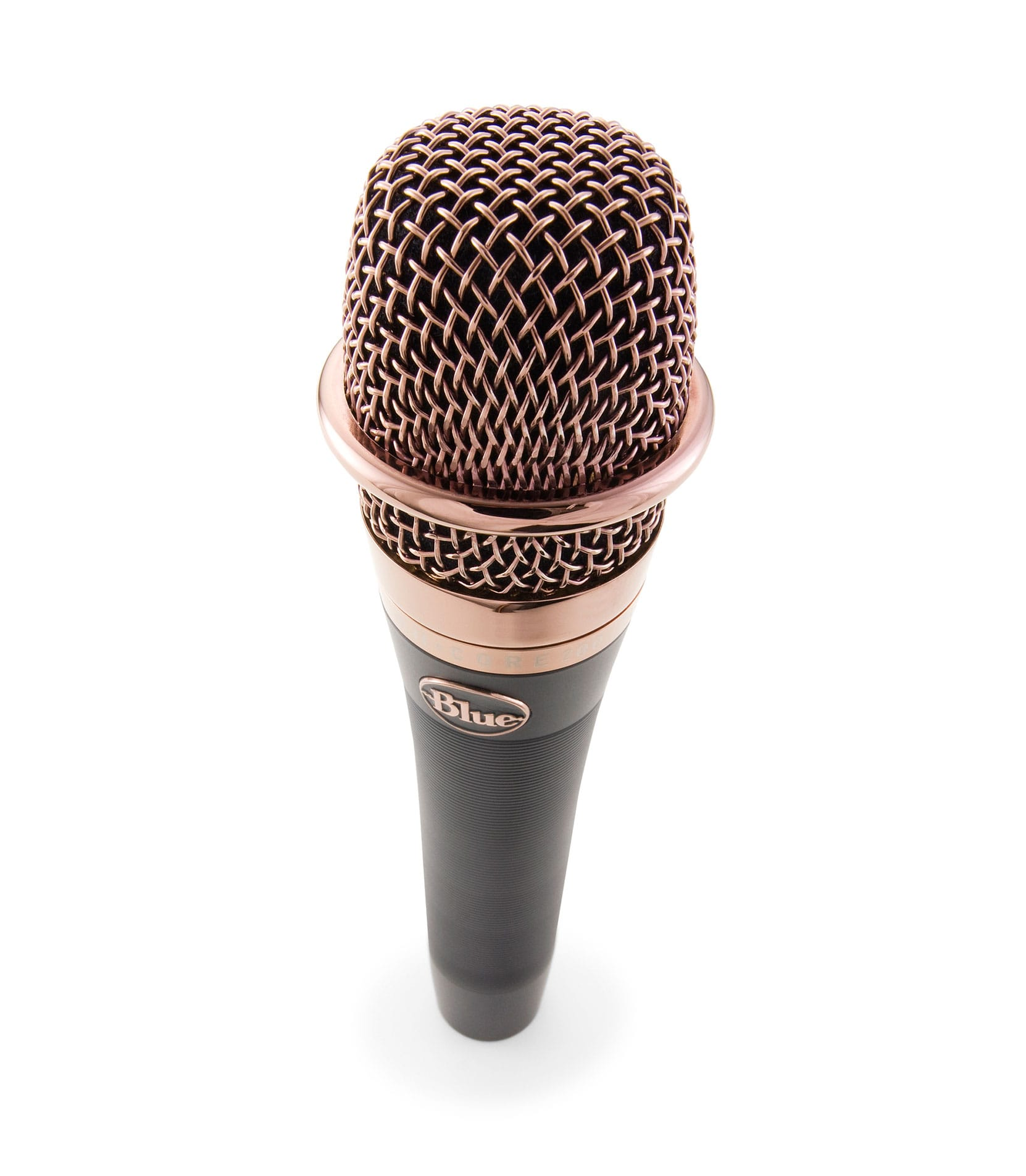blue - Encore200 Cardioid Active Dynamic Mic Black Finish - Melody House