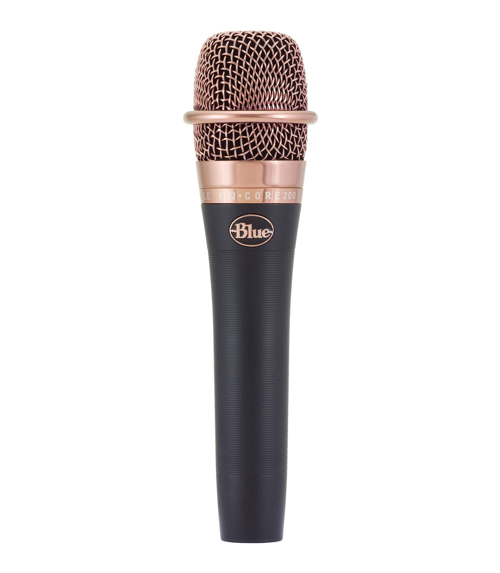 Blue - Encore200 Cardioid Active Dynamic Mic Black Finish - Melody House Musical Instruments