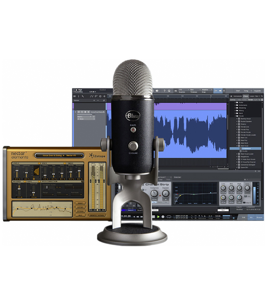 Blue - Yeti Pro Studio - Melody House Musical Instruments