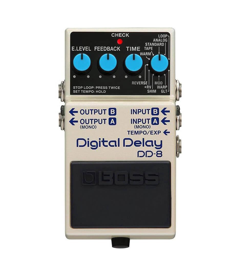 buy boss dd 8 boss dd 8 advanced compact digital delay with