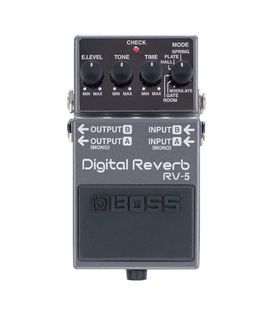 buy boss guitar pedals effects rv 5 online at best price in dubai uae melody house. Black Bedroom Furniture Sets. Home Design Ideas
