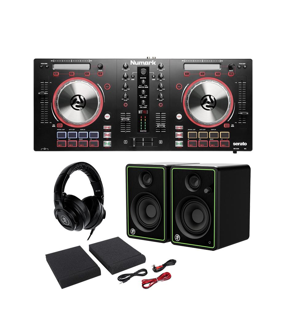 buy melodyhouse dj bundle 3 numark partymix controller shure dj he