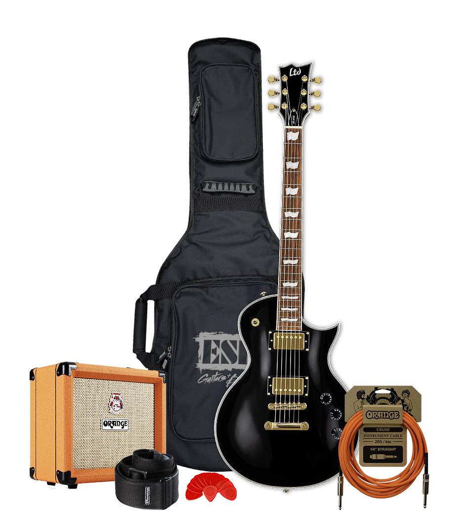 buy melodyhouse guitar bundle 3 ltd mh electric guitar black finis
