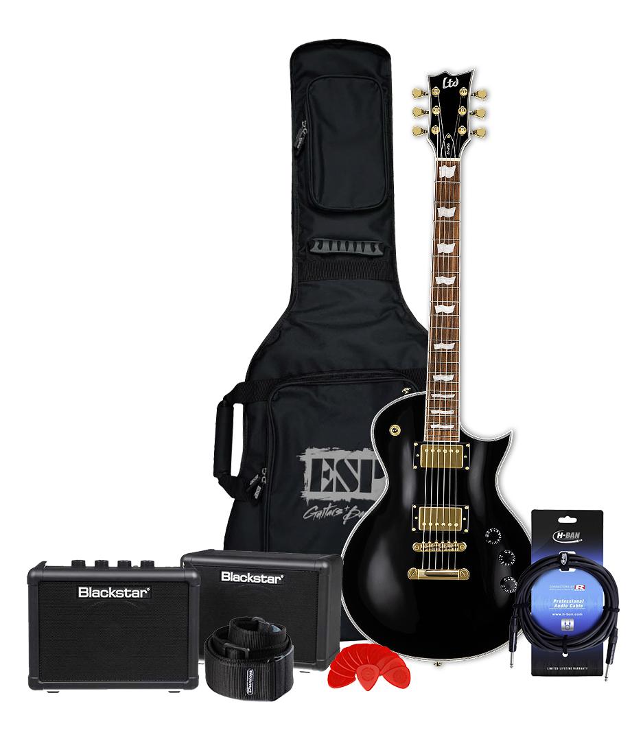buy melodyhouse guitar bundle 4 ltd mh electric guitar black finis