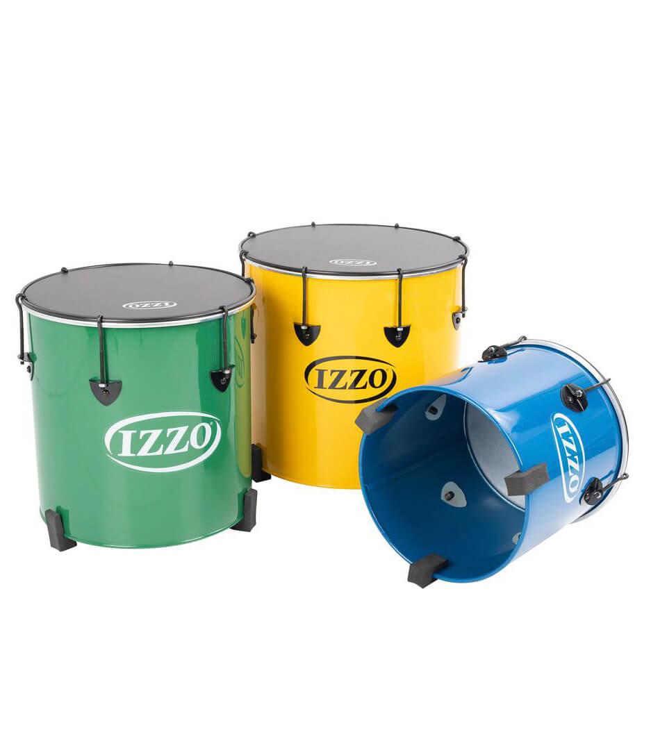 Chamberlain - Izzo Castle surdos set of 3 nesting samba drums