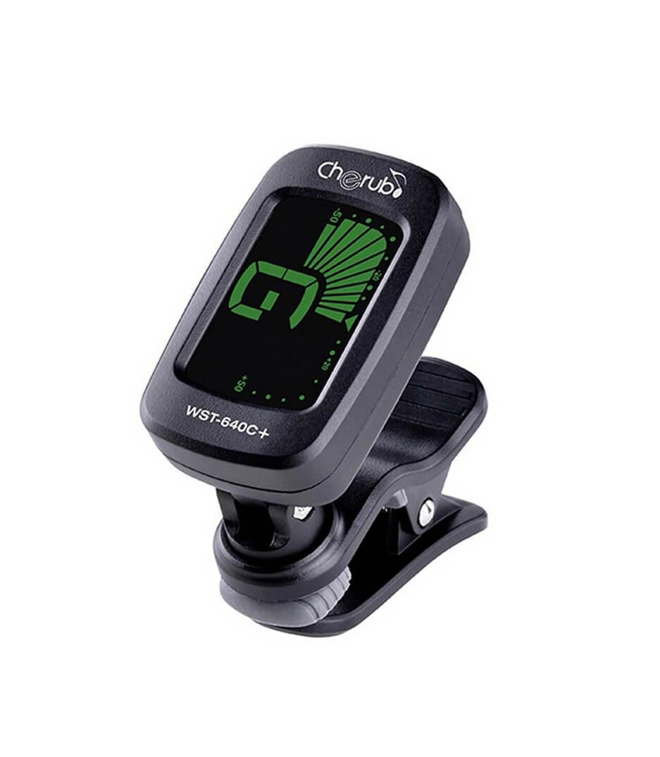 Cherub - WST 640C Clip on Tuner Clip Black Color