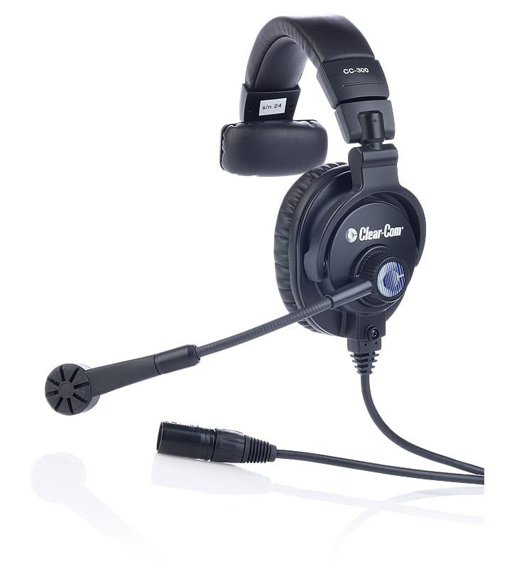 Buy ClearCom Intercom Headsets CC 300 X4 - Edge Electronics