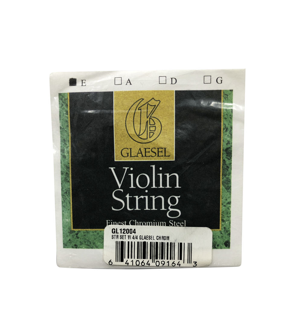 Buy conn selmer Glaesel Violin Chromium Steel String Set 4 4 Size Melody House