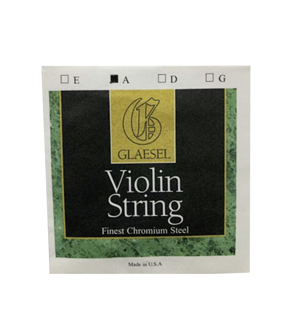 Buy conn selmer Glaesel Violin Chromium Steel A String 4 4 Size Melody House
