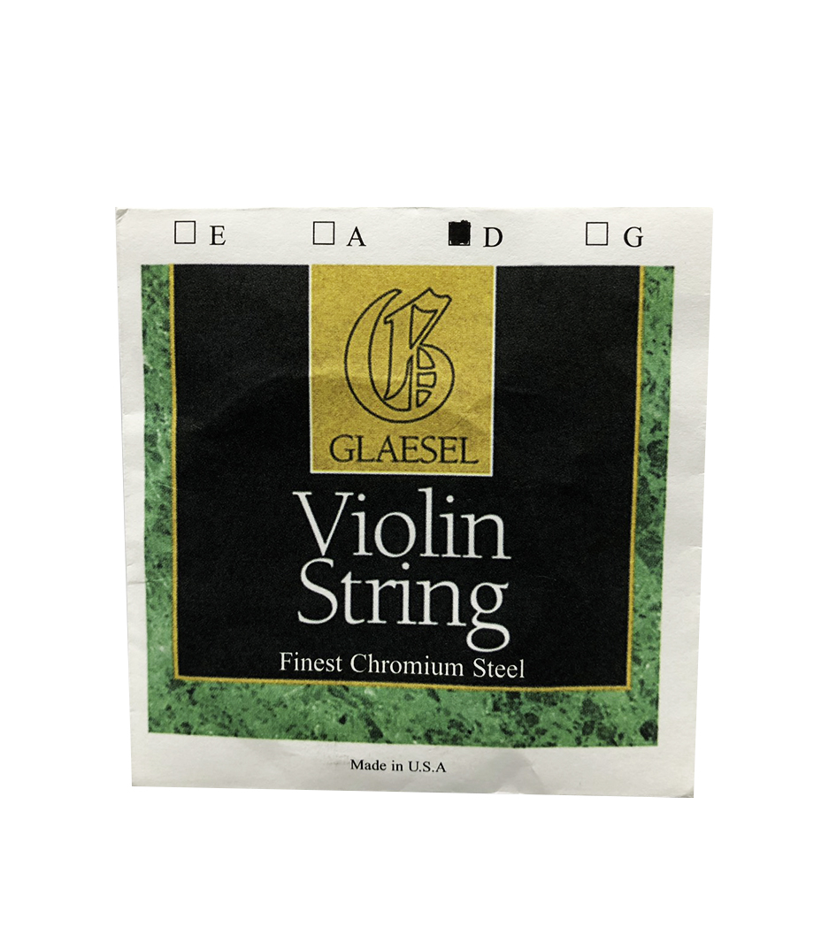 buy connselmer glaesel violin chromium steel d string 4 4 size