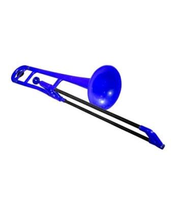 buy connselmer pbone jiggs plastic trombone blue colour