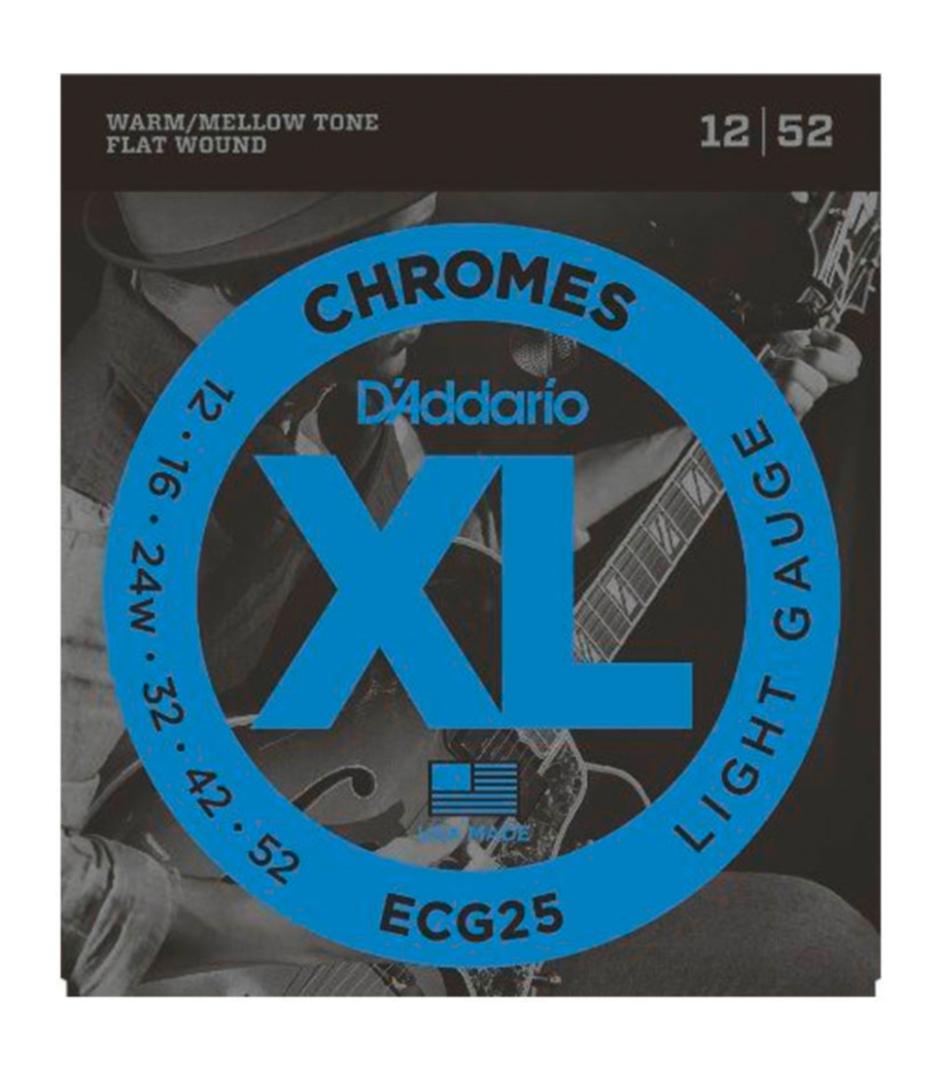 buy d'addario ecg25set gtr chromes lite