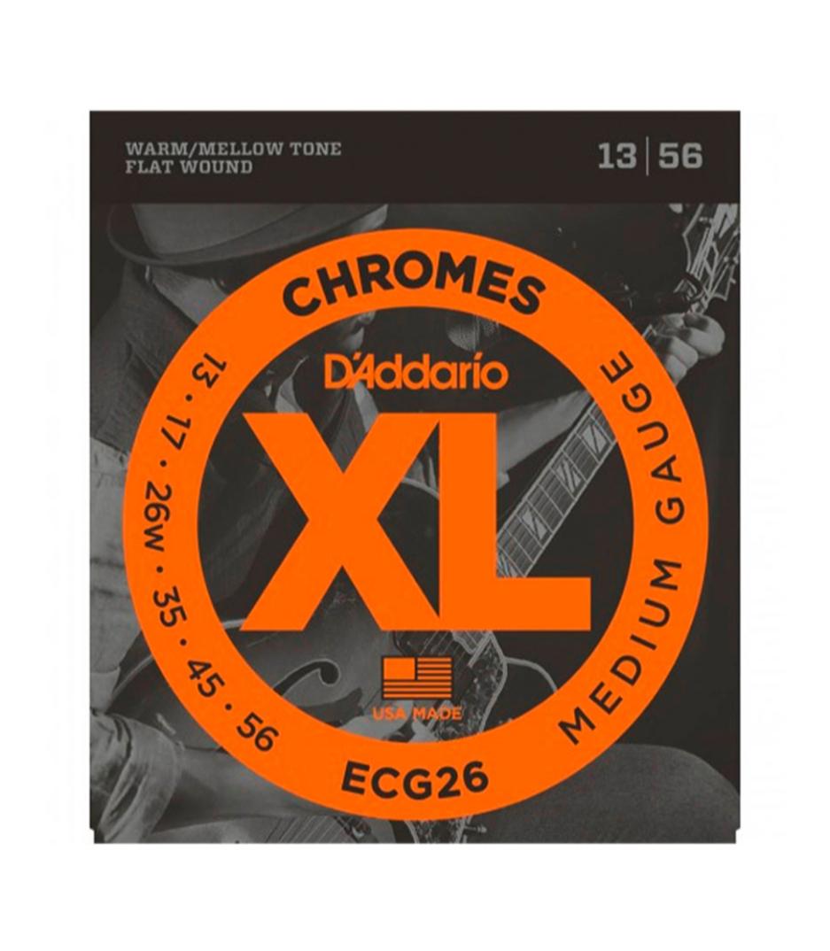 buy d'addario ecg26 set gtr chromes med