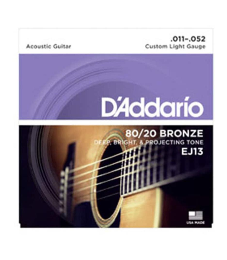 Buy d'addario EJ13 SET ACOUS 80 20 BRZ CST LITE Melody House