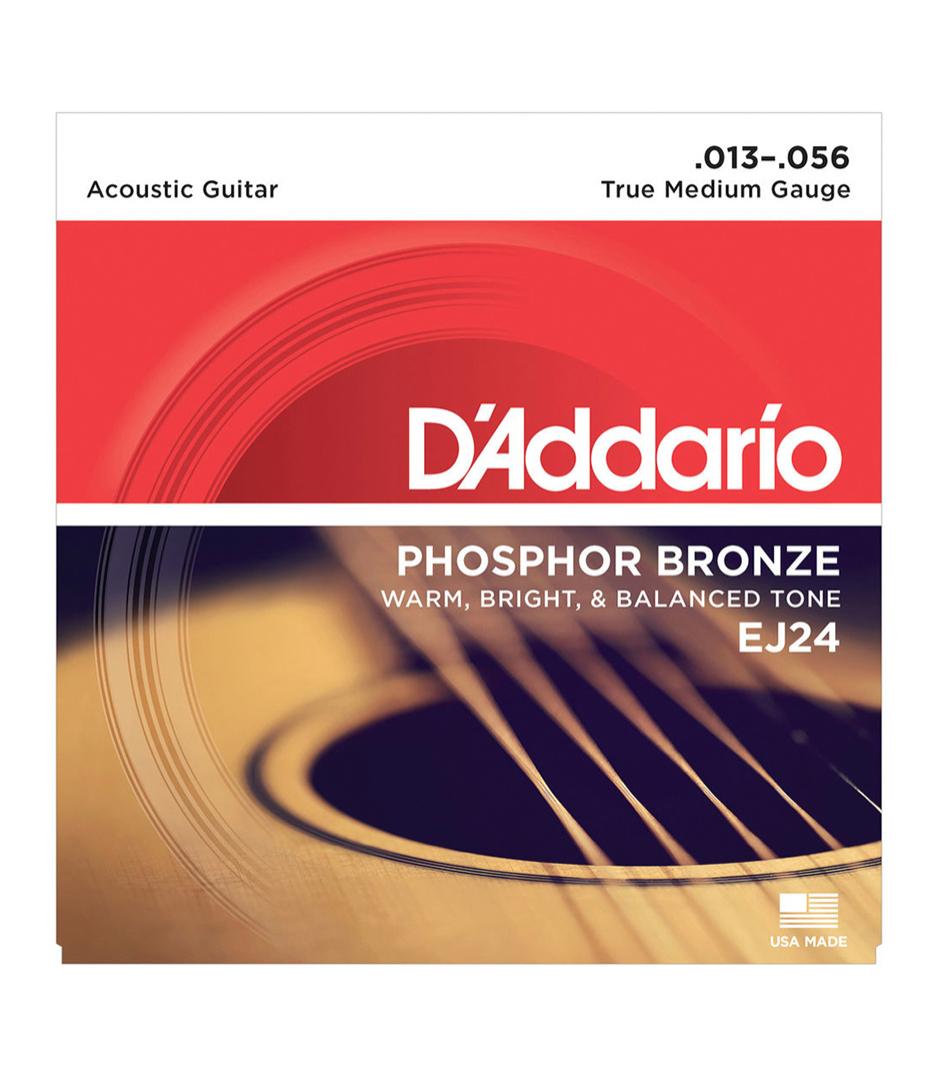 Buy d'addario EJ24SET ACOUS GTR PHOS BRZ TRUEMED Melody House