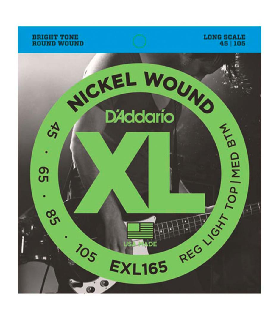 buy d'addario exl165 set bass xl 45 105 long scale