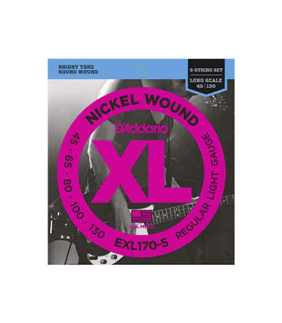 Buy d'addario - EXL170 5SET BASS XL 45 130 LONG 5STR