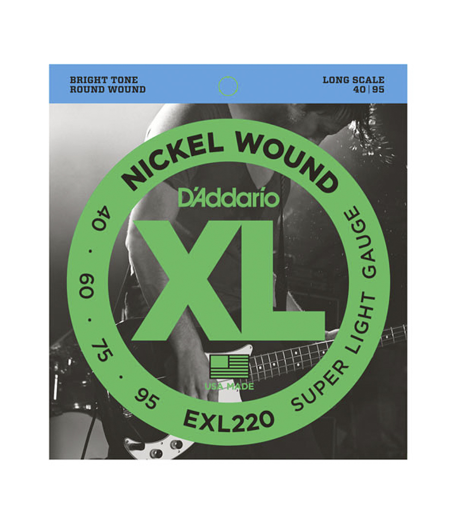 D'Addario - EXL220SET BASS XL 40 95 LONG SCALE