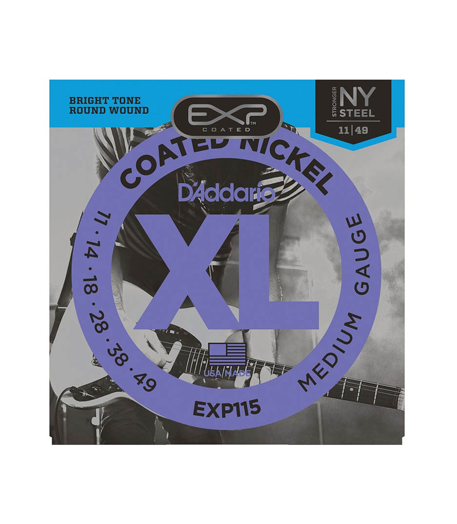 D'Addario - EXP115 SET ELEC GTR EXP BLUES JAZZ - Melody House Musical Instruments