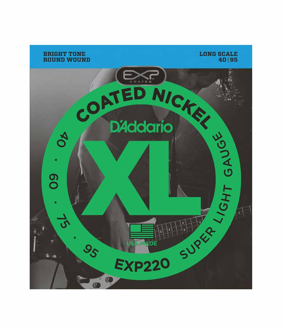 Buy D'Addario - EXP220SET BASS EXP NKL 40 95 LONG
