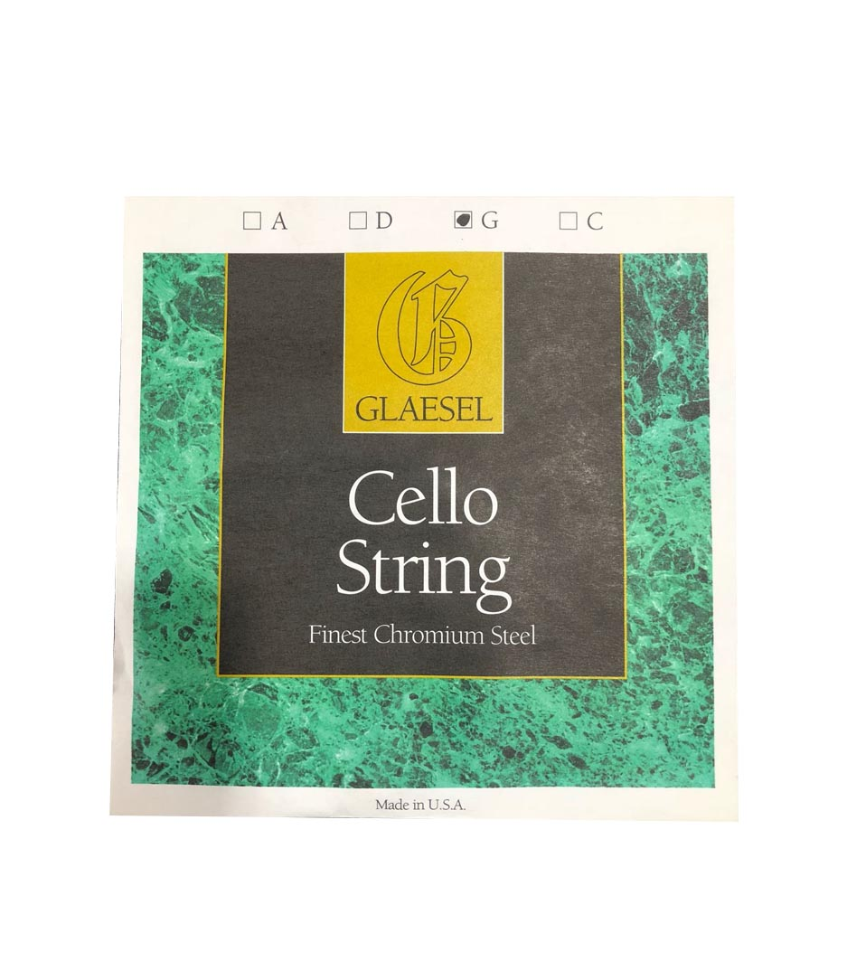 Buy Conn Selmer Glaesel Cello Chromium Steel String Set 4 4 Size Melody House