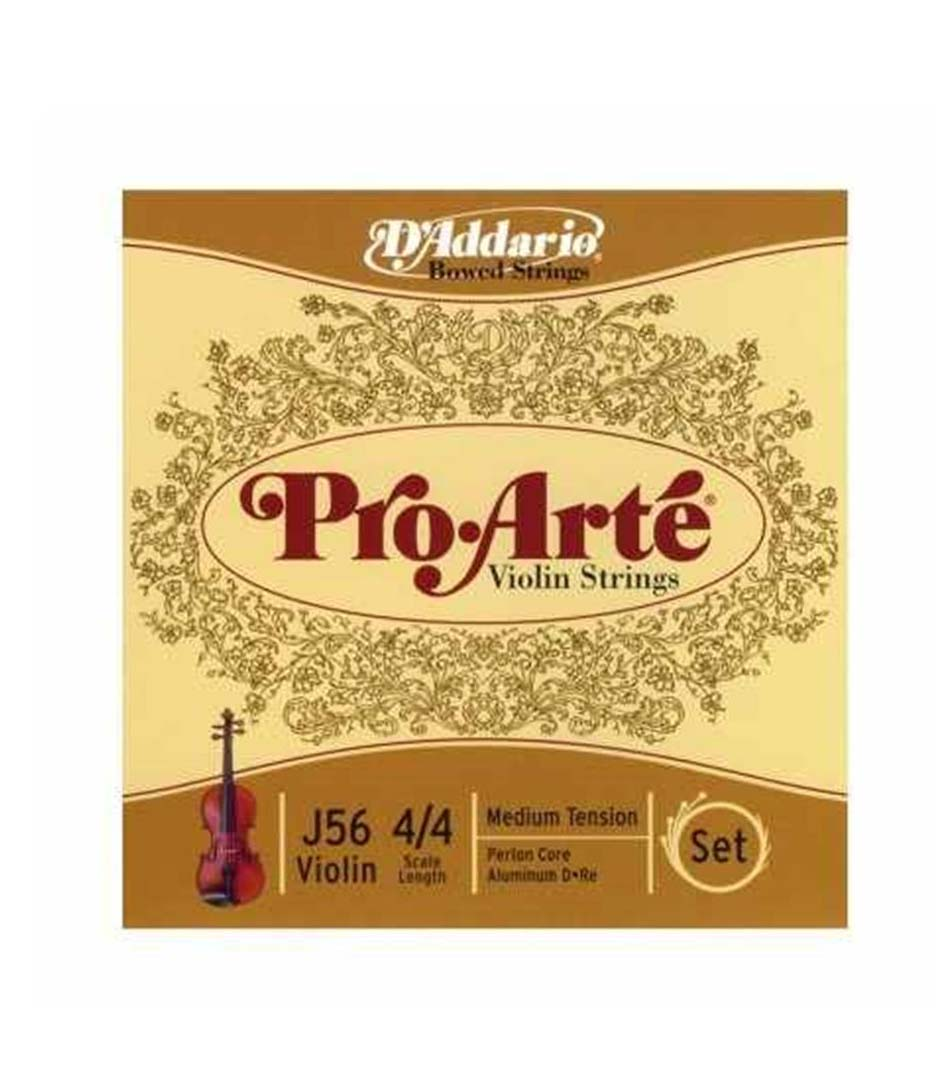buy d'addario pro arte violin string set 4 4 scale