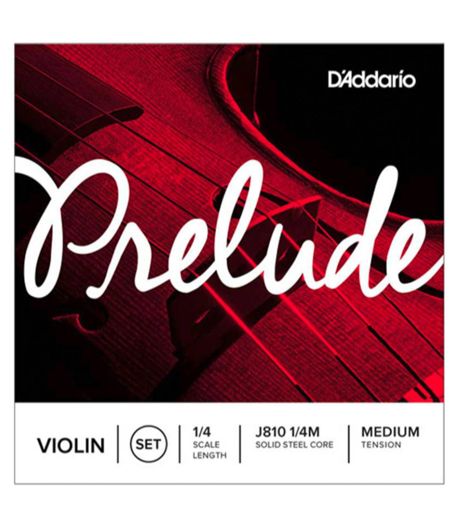 buy d'addario prelude violin string set 1 4 scale