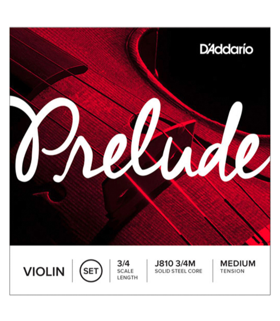 buy d'addario prelude violin string set 3 4 scale