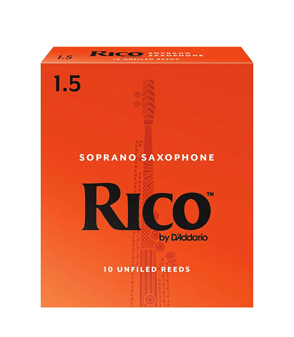 Buy d'addario Soprano Saxophone Reeds Strength 1 5 10 Pack Melody House
