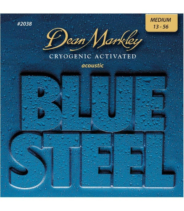 Buy dean markley - 2038Blue Steel Medium 13 56