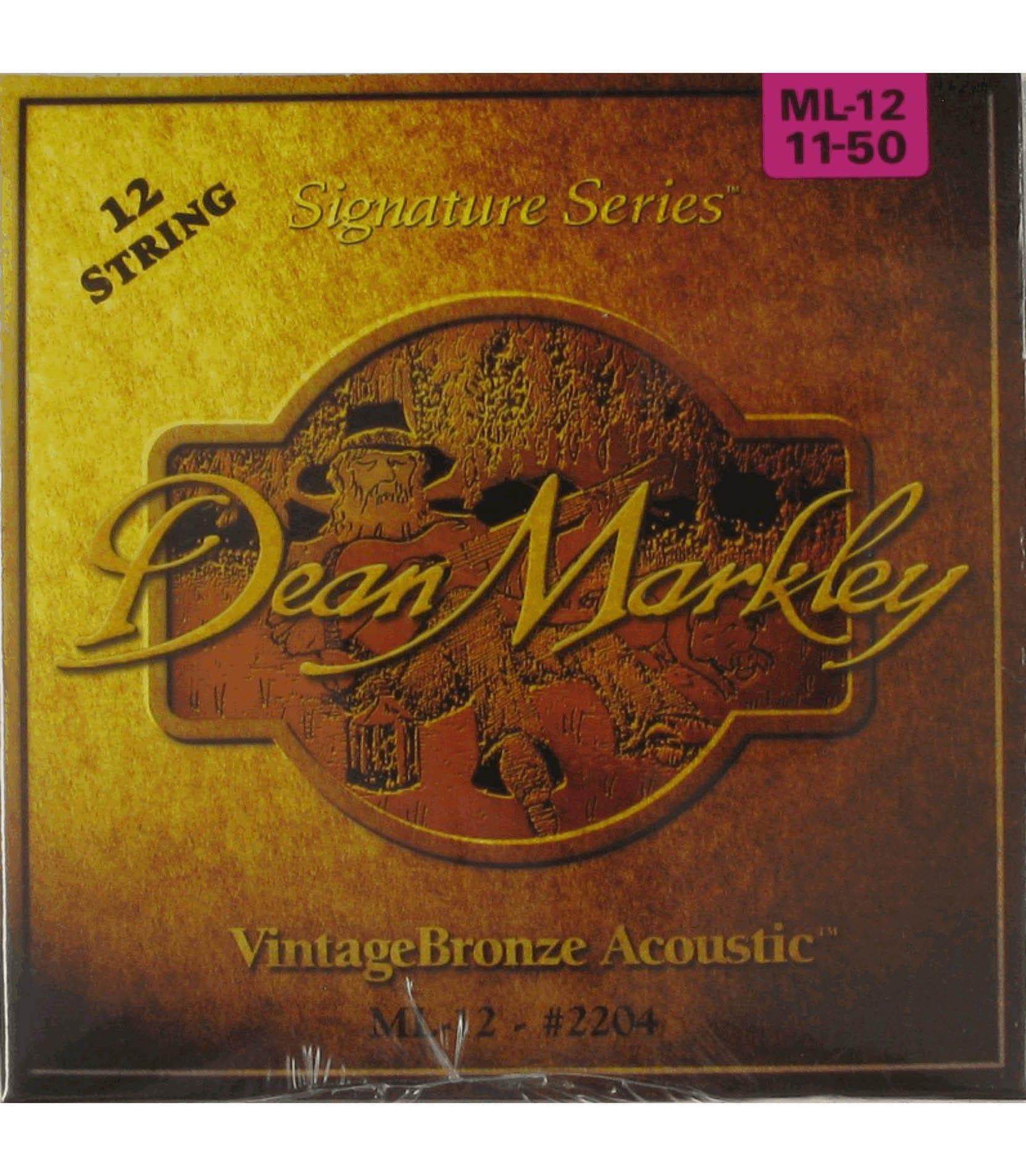 Buy dean markley - 2204 Vintage Bronze Medium Light 12 String