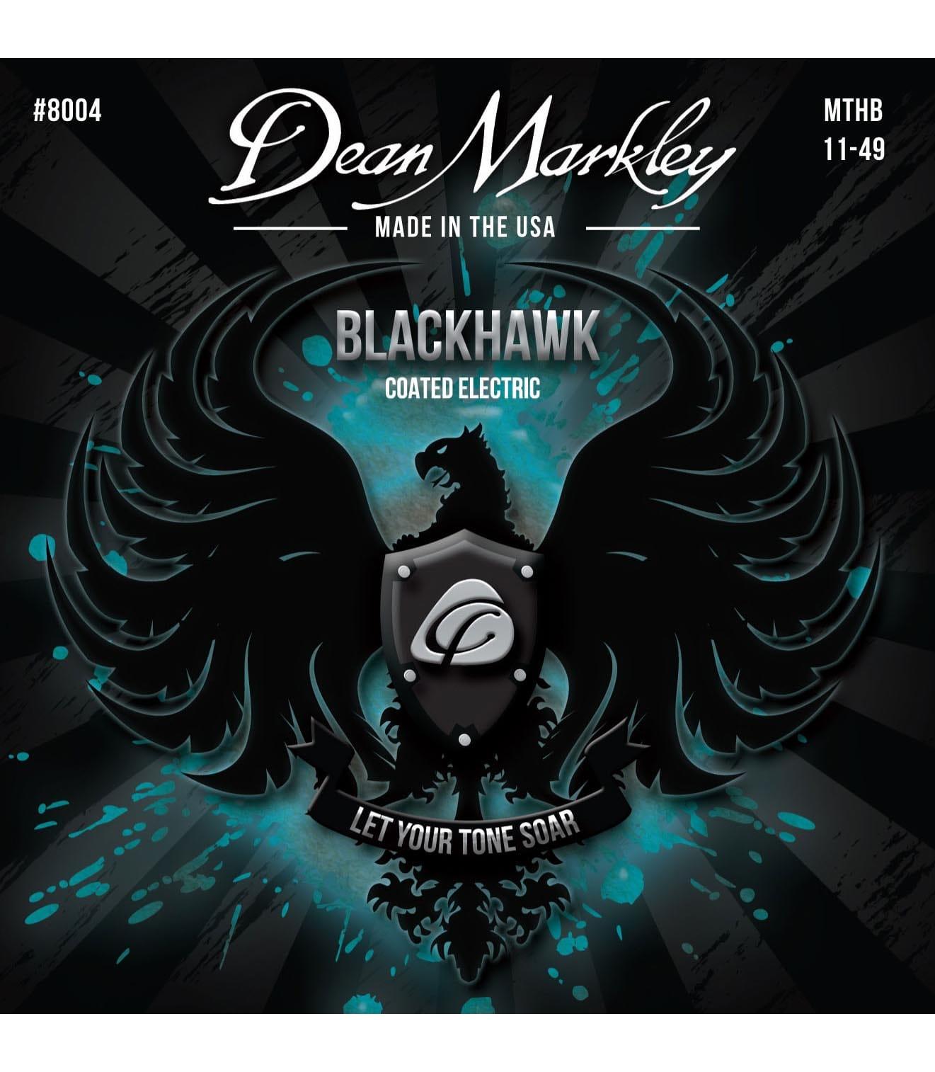 buy deanmarkley 8004 black hawk coated string medium 11 49