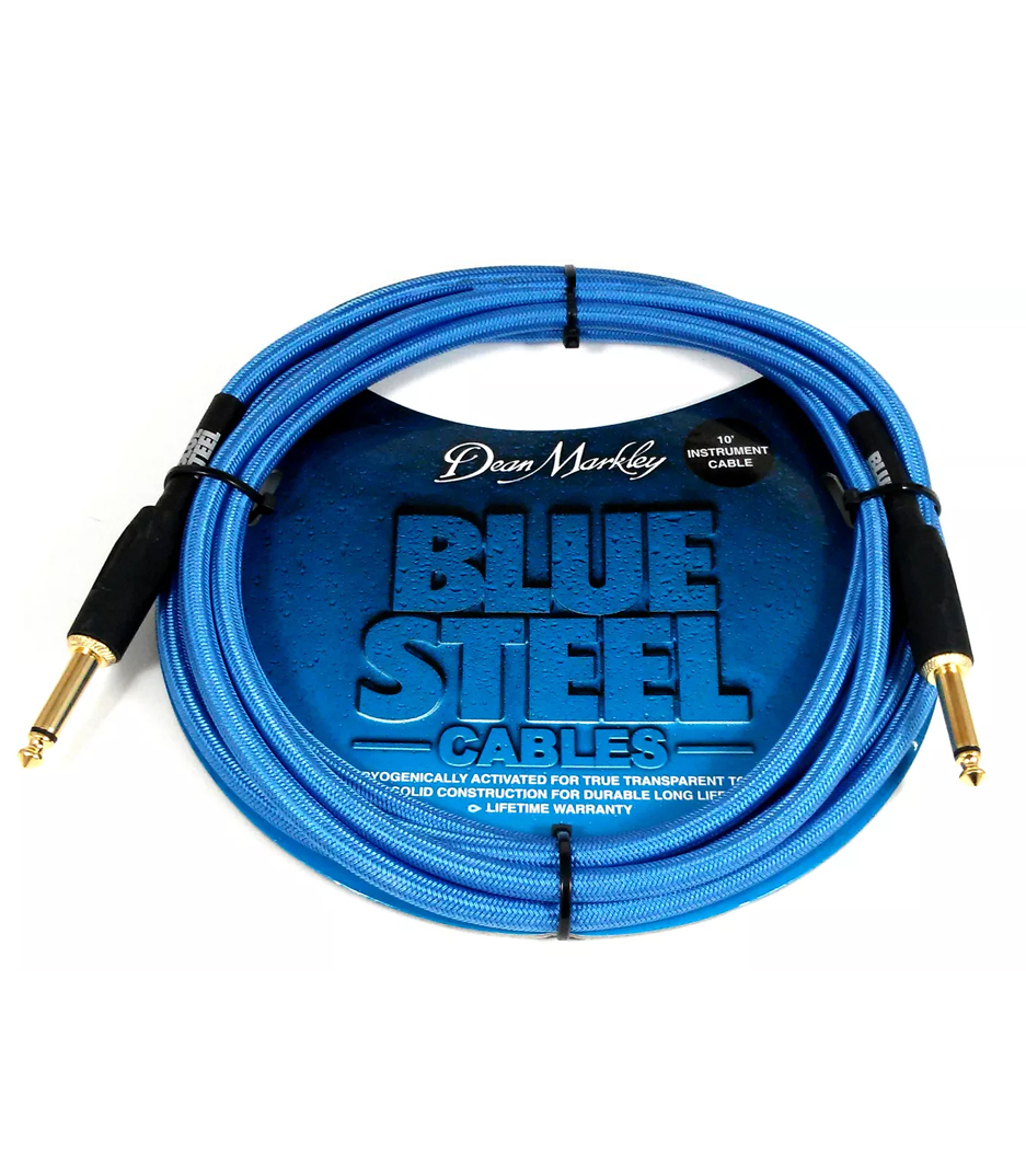 Buy dean markley - BSIN30S30 Ft Instrument Cable Blue Woven